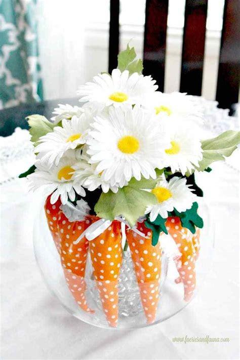 easter decorating ideas  mini carrots