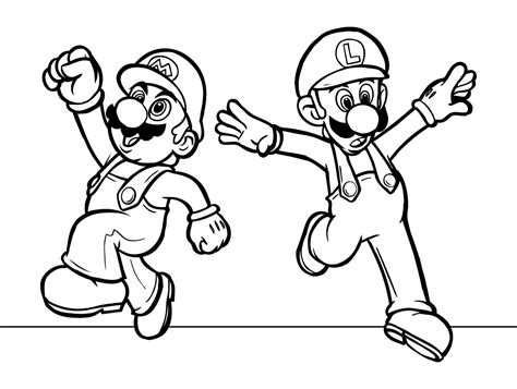 Free Mario Coloring Pages free printable mario coloring pages for
