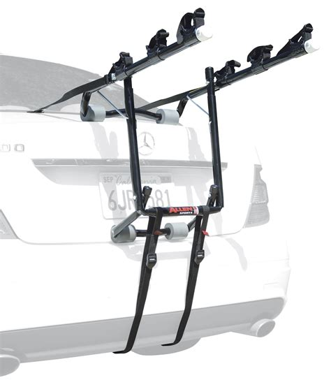 Single Bike Rack For Car Trunk by Allen Sports Deluxe 3 Bike Trunk Mount Rack Ebay