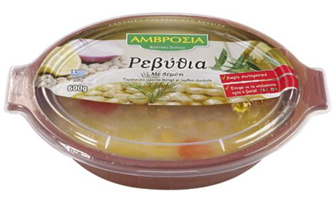 600g carbohydrates ready to eat meals amvrosia chickpea soup 600 gr