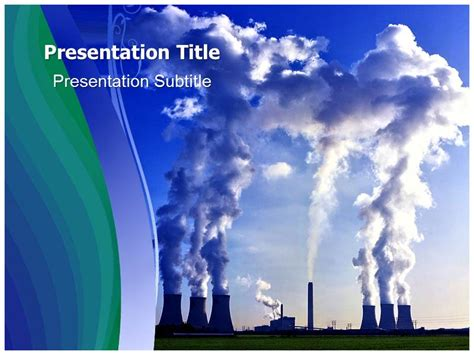 Pollution Powerpoint Template Pollution Powerpoint Ppt Air Pollution Ppt Templates Free