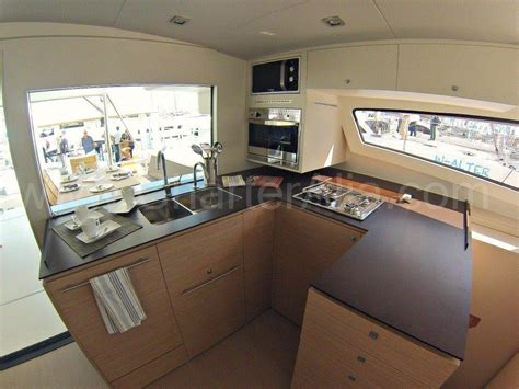 yacht kitchen kitchen aboard bali 43 yacht for rent in formentera and