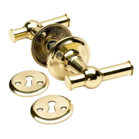 Brass Door Handles Interior Door Handle Interior Brass Rosette And Escutcheon With Varnish Brass Door Handles