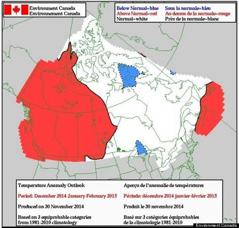 canadian weather environment canada environment canada s winter weather forecast is reason to