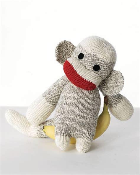 monkey knitting pattern free sock monkey knitting patterns in the loop knitting