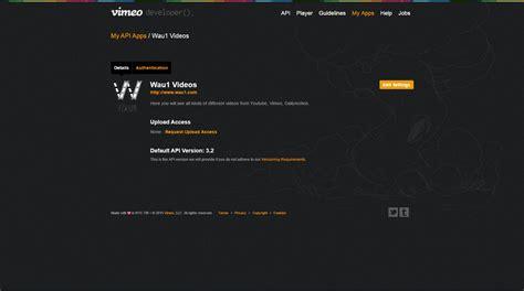 tutorial api wordpress where to find vimeo api key tutorial wp video robot help