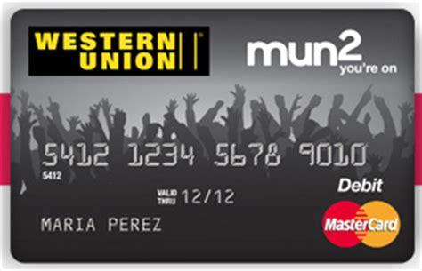 Western Union Mastercard Gift Card - western union mun2 prepaid mastercard 730 sage street