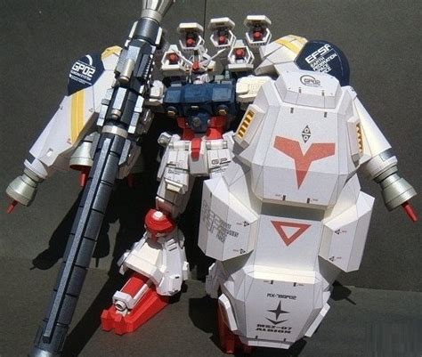 Gundam Exia Papercraft - rx 78 gp02a gundam physallis po archives