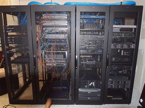 Data Rack Layout by Our New Data Center The Layout