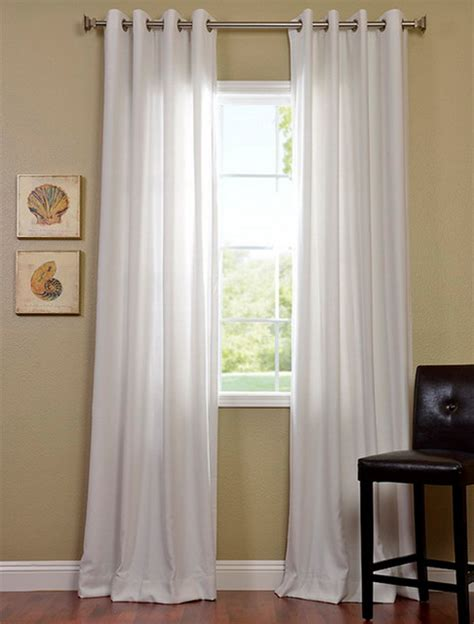 White Grommet Curtains White Grommet Curtains White Linen Grommet Top Curtains Set Of 2 World Market Cotton Canvas
