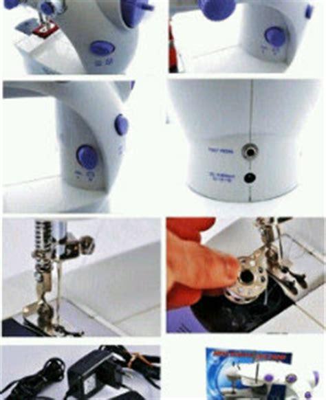 Mesin Jait Mini 4 In 1 Mesin Jait Sewing Machine mesin jahit mini s2 bisa pake batre alat jait kain praktis