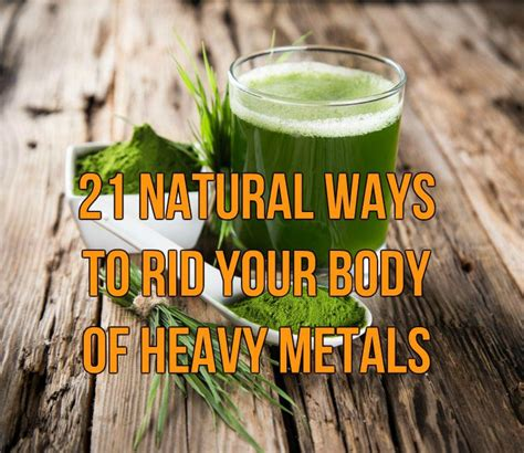 Water Detox Overdose by 21 Ways To Rid Your Of Heavy Metals