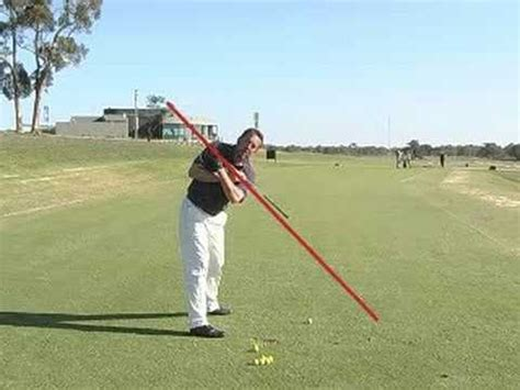 two plane swing the one plane golf swing presented by golfzone youtube
