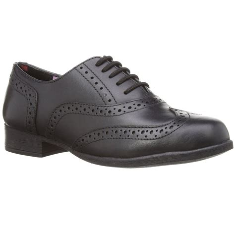 hush puppies school shoes hush puppies kada jnr black leather brogue school shoes sizes 13 5