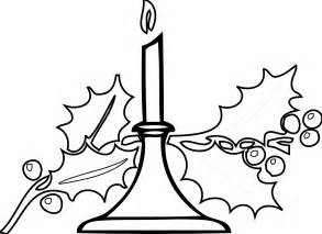 free printable christmas candle coloring pages cooloring