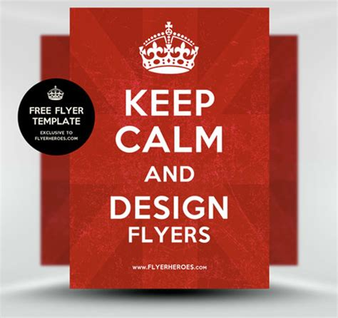 free simple flyer templates 25 free flyer templates design inspiration psd collector