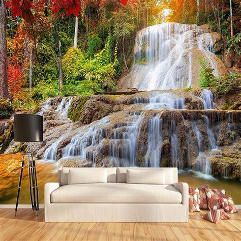 Handmade Wall Murals - aliexpress buy custom wallpaper murals 3d hd forest