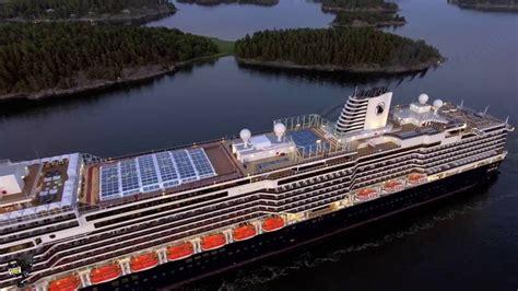 ship youtube koningsdam cruise ship aerial youtube