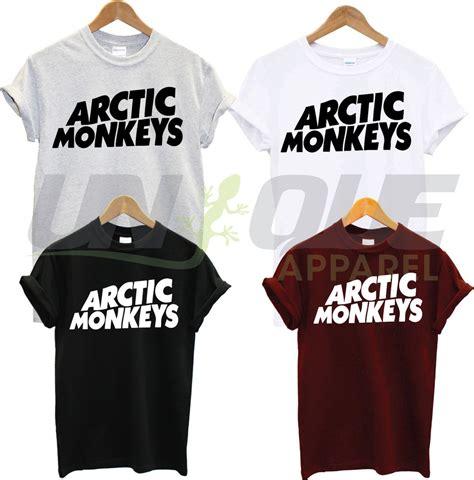 T Shirt Band Arctic Monkeys arctic monkeys t shirt top tshirt band concert