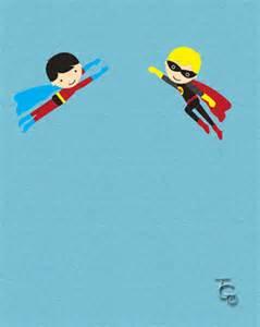 superhero b day twins free for kids ecards greeting