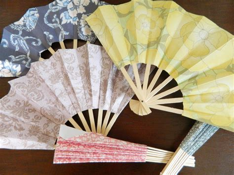 How To Make Paper Fans For Weddings - paper pendulum paper fans
