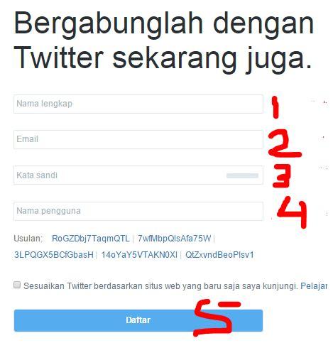 membuat twitter indonesia cara membuat akun twitter cepat dan mudah