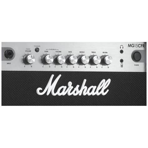 Marshall Mg15 Cfr li guitare marshall mg15cfr paul beuscher