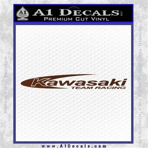 Kawasaki Stickers by Kawasaki Team Racing Decal Sticker 187 A1 Decals