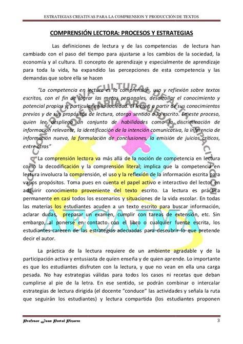 2 textos y estrategias estrategias para la comprensi 243 n y producci 243 n de textos