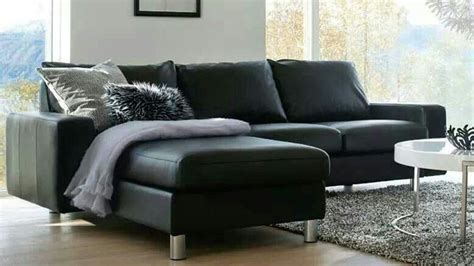 sillon negro decoracion en  sofa living room