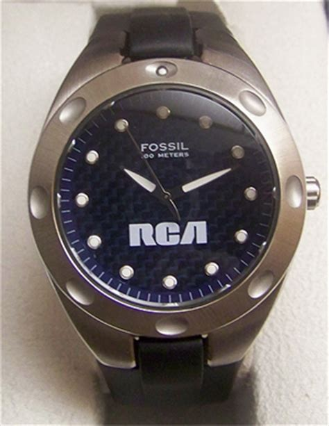 fossil rca mens promotional limited edition pr 5102
