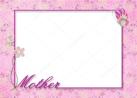 day frames pink butterfly on s day frame stock photo 24614875