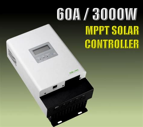 Mppt Solar Charged Controller Scc Makeskyblue 60a 12v 24v 36v 48v 60a mppt solar charge controller 12v 24v 48v solar regulator in charger from consumer
