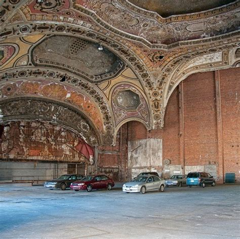 former theater makes the most beautiful parking garage in 20 photos of urban decay in detroit urban ghosts media