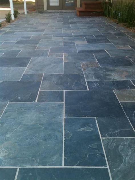 slate pavers for patio 17 best ideas about slate patio on paving