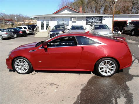 2011 cadillac cts v coupe 2 door 6 2l