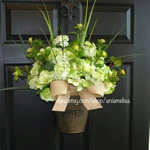 Summer Wreath For Front Door Wreath Summer Wreaths Outdoor Wreaths For Front Door
