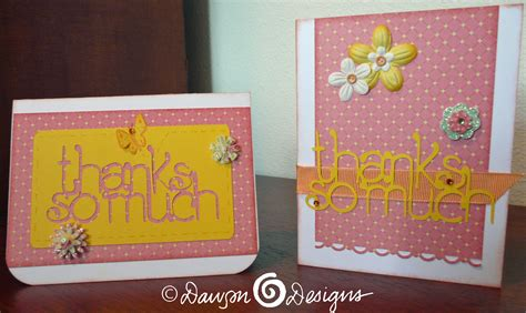 how to make cards with cricut cricut thank you card ideas