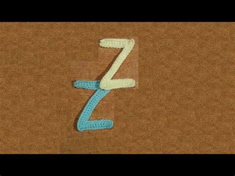 lettere all uncinetto alfabeto alluncinetto la lettera z tutorial letter z