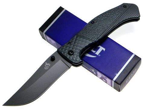 titanium blade knives colt titanium finish tactical folding blade knife new ebay