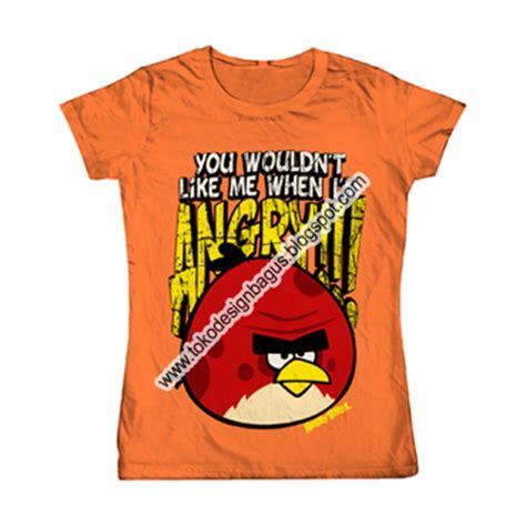 T Shirt Kaos Distro Bird angry bird desain kaos desain t shirt desain