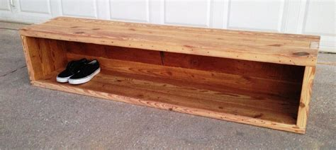 Backyard In Bench With Storage For Shoes The Decoras Jchansdesigns
