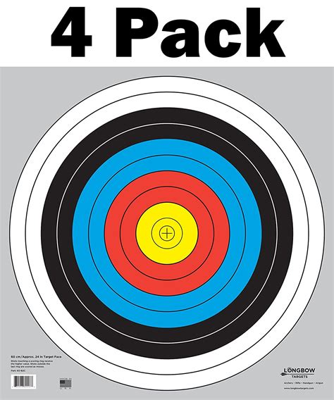 printable bow shooting targets bow and arrow target numbers www pixshark com images
