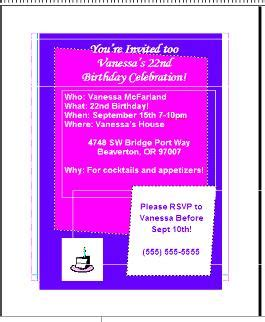 How To Design An Invitation Card Using Microsoft Word
