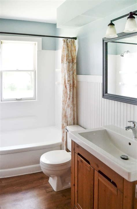 Bathroom Makeover by Budget Bathroom Makeover That Looks Expensive My