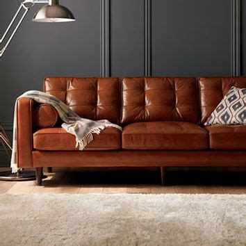 Darrin Leather Sofa Darrin 89 Quot Leather Sofa From Jcpenney