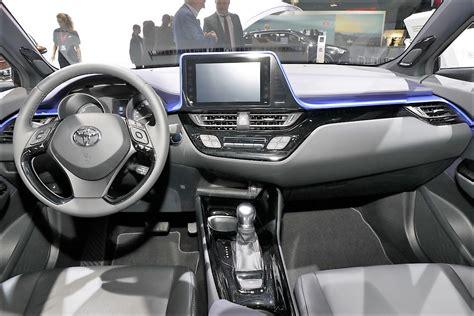 Indian Home Interiors Toyota C Hr Interior Dashboard Indian Autos Blog
