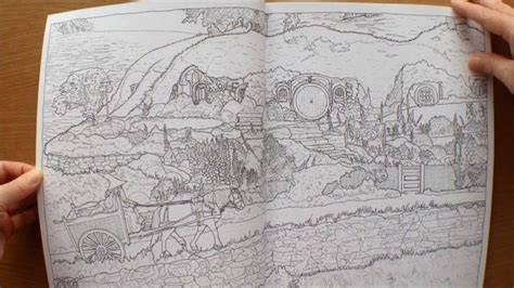 lord of the rings coloring book the lord of the rings trilogy colouring book
