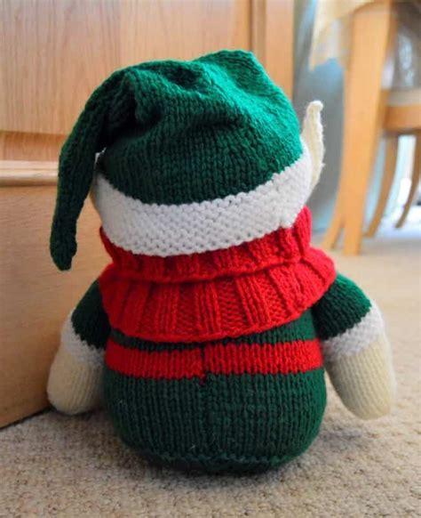 knitting pattern elf elf doorstop knitting pattern knitting by post