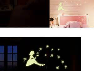 fairy wall decal glow in the dark bedroom by home decal glow in the dark bedroom corridor ceiling wall